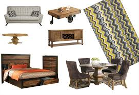 18 pcs urban style furniture package deal hollywood hills