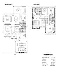 harlow double storey designs broadway homes 2016