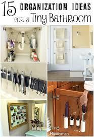 small bathroom organizing ideas 15 clever organization ideas for a tiny bathroom the craftiest