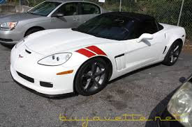 white corvette interior used c6 corvettes for sale at buyavette atlanta