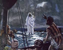 jesus walks on water bible story and lesson