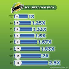 amazon com bounty select a size paper towels 12 huge rolls