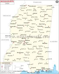 Mississippi State Map Mississippi Cities And Towns Map Southern Research Pinterest