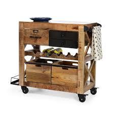 servierwagen küche die besten 25 servierwagen holz ideen auf