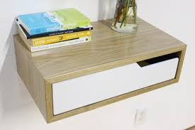 Nightstand Size by Wall Mounted Nightstand With Drawer Arlene Designs