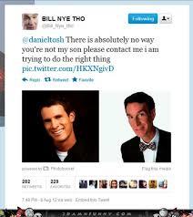 Daniel Tosh Meme - bill nye found his long lost son daniel tosh