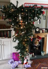 30 beautiful upside down christmas tree ideas christmas celebrations