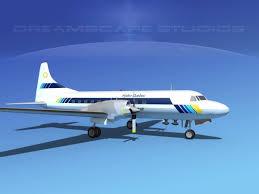 Cv Quebec by 3d Convair Cv 580 Hydro Quebec Cgtrader