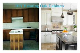 How To Paint Oak Kitchen Cabinets How To Paint Oak Cabinets