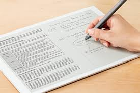 thick writing paper sony s giant 700 e paper tablet is a great example of weird sony for years science fiction has promised that one day technology will make paper obsolete instead of carrying around folders of dead trees and bulky books