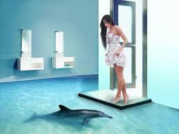 badezimmer 3d 3d bodenbelag aus epoxidharz innovative technologie und naturmotive