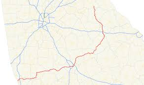 Ga State Parks Map by Georgia State Route 22 Wikipedia