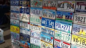 Usa License Plate Map by All Us States License Plate Youtube