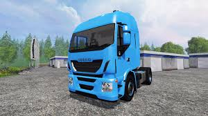 iveco stralis hi way 8x8 for farming simulator 2015