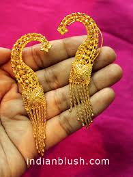 bengali gold earrings indian blush traditional bengali gold wedding jewellery part ii