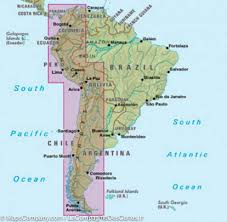 South America Maps by Map Of The Andes South America Nelles Map Maps Company