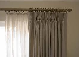 preparing ceiling curtain track to place curtain u2014 john robinson