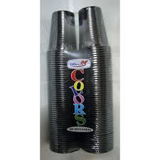 bicchieri bianchi e neri 100 bicchieri acqua plastica monouso dopla neri