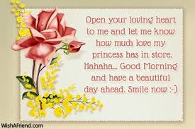good morning messages for girlfriend regarding good morning love