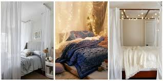 Diy Canopy Bed With Lights 10 Diy Canopy Beds Bedroom And Canopy Decorating Ideas