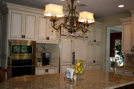 Cream Kitchen Cabinets With Glaze Remodelaholic Kitchen Remodel A Total Transformation