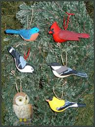 realistic resin bird ornaments