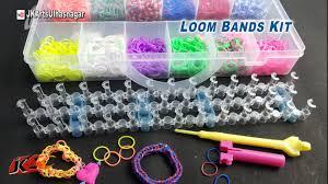 bracelet diy rubber images Loom band bracelet making kit and how to use jk arts 902 jpg