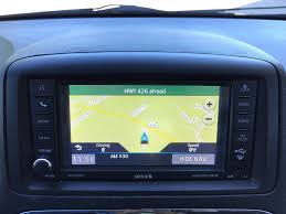 2011 2017 dodge grand caravan gps navigation rhb 430n radio