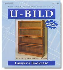 Lawyers Bookcase Plans Lawyer U0027s Bookcase Plan Lee Valley Tools