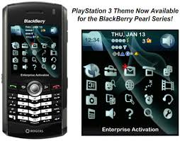 themes mobile black berry playstation 3 theme now available for blackberry pearls