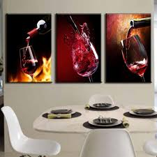 aliexpress com buy 3 pieces modern spray canvas painting pour
