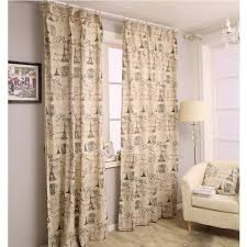 Designer Drapes Vintage Inspired Curtains Of Patterned Beige Designer Drapes Curtains
