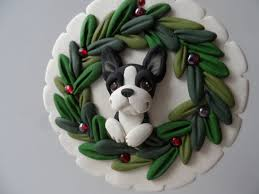 67 best bt ornaments images on boston terriers boston