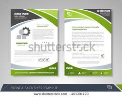 template flyer design flyer template stock images royalty free