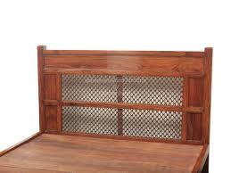 bed 31 sheesham jali bed details bic furniture india