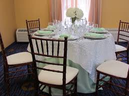 tablecloth for 48 round table another 48 round table set up with a mint green 108 linen and