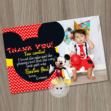 mickey mouse thank you cards mickey mouse thank you card mickey mouse birthday mickey