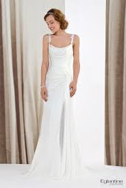 robe mariã e fluide naja eglantine robe de mariée fluide en mousseline très