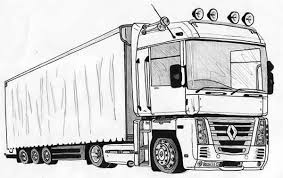 printable 33 semi truck coloring pages 6873 semi truck coloring