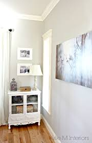 how to warm up a room painted gray that is north facing shown