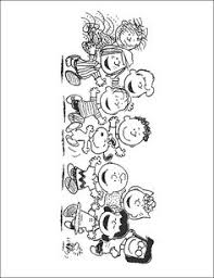 charlie brown coloring peanuts category select