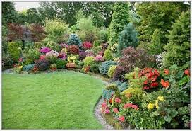 simple small yard flower beds 6076