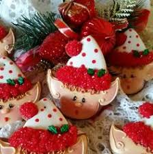 cute mr claus christmas cookie by teri pringle wood cookies