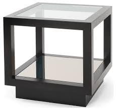 dark wood side table infinity side table oak side tables furniture decorus furniture