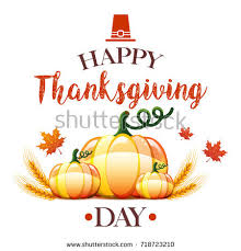 thanksgiving day card stock illustration 718723201