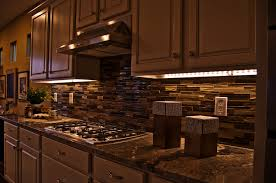 kitchen awesome under cabinet lighting with wooden floor
