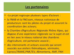 chambre d agriculture rhone alpes fnab fédération nationale d agriculture biologique des régions de