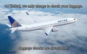 United Airlines Baggage United Airlines Free Baggage Checks Memes Pinterest Memes