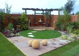 Backyard Corner Landscaping Ideas Small Contemporary Garden Google Search Ogrody Pinterest