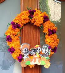 diy corona de flores naturales cempasúchil dia de muertos